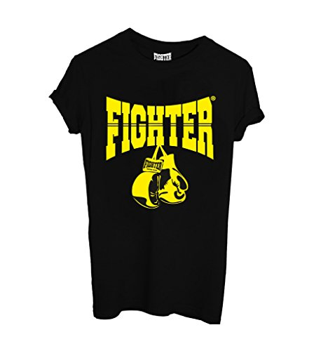 T-Shirt FIGHTER MOD 50 - SPORT by Fighter Nera