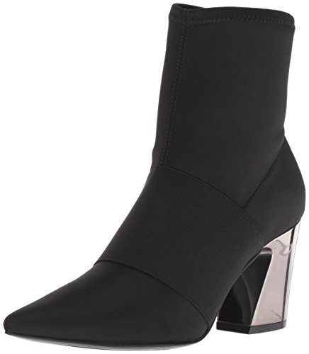 Nine West Damen nwDELAYNA2 Stiefeletten, Schwarz (Black) , 36 EU (6 US) - Pointy Toe Bootie