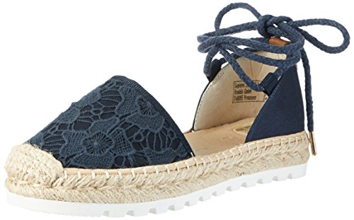 TOM TAILOR Women's 2796903 Espadrilles blue Size: 7 UK