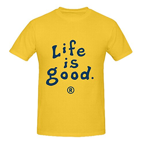 life-is-good-logo-herrens-relaxed-fit-cotton-round-neck-t-shirt-medium