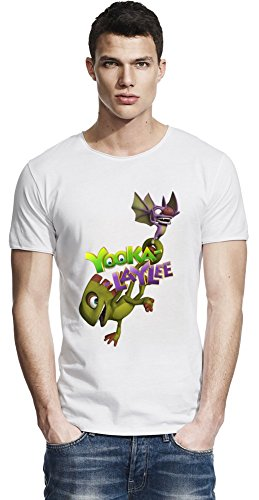 Yooka-Laylee Bat Fly Raw Edge-T-Shirt X-Large