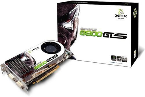 XFX nVidia Grafikkarte PVT80GGHF9 GF 8800 GTS 320MB DDR3 PCI-Express Grafikkarte Dual-DVI HDTV out (Dvi-hdtv-pci Express)