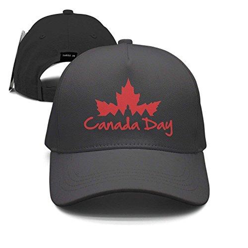 Wolanim City Canada Day Unisex Baseball Cap Snapback Hip Hop Caps Fitted Sport Sun Hats (City Sports Newsboy Caps)