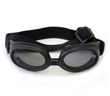 Modische Wasserdicht Pet Hund Brillen Eye UV-Schutz Sonnenbrille (schwarz)