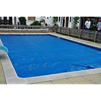 International Cover Pool Cobertor Solar para Piscinas 5x12 Metros (Ribeteado o con orillo en Todo