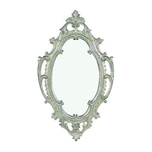 Espejo De Pared Corazón En Forma Barroco Oro Blanco Regalo Amor 26 Skilful Manufacture Muebles Antiguos Y Decoración