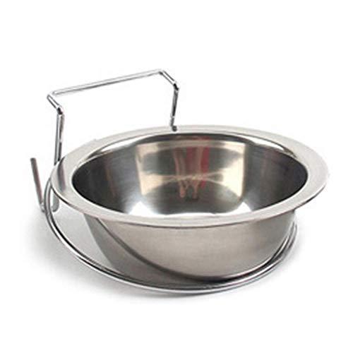 CMMin Pet Bowl Super Design Ersatznäpfe aus Edelstahl for die Fütterungsstation for Hunde und Katzen (Size : M)