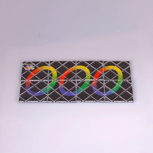 Fashion Plaza-LingAo Rubik's Magic 8 von Schwarz