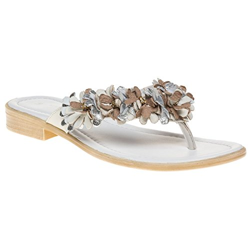 Marco Tozzi 27107 Damen Sandalen Weiß Weiß