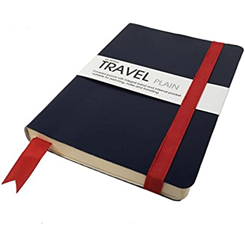Artway Travel - Bloc / diario de viaje - Papel cartridge - 150 gsm - 120 x 170mm - 48 hojas - Papel liso