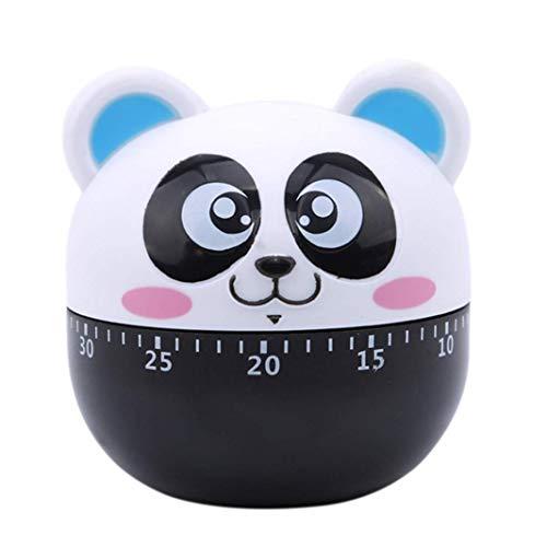 Vektenxi Eieruhr für die Küche, Panda Mechanical Rotation Alarm Timer Blau Praktisch und praktisch
