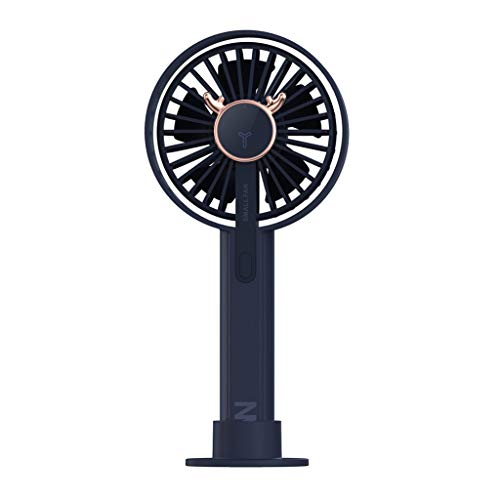 41MzVvP1BnL. SS500  - 99native@ Portable Handheld Fan, Mini Fan USB Desktop Fan Rechargeable Battery Powered Fan for Home, Office, Camping and Travel (Blue)