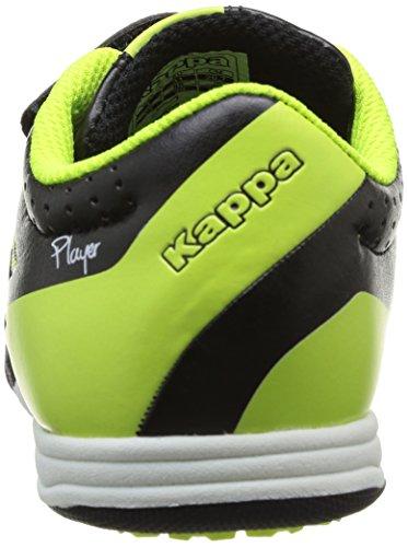 Kappa - Soccer Player Tg, Scarpe Outdoor Multisport da Bambini e ragazzi Nero (Noir (911 Black))
