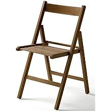 Sedie In Legno Richiudibili.Amazon It Sedie Pieghevoli Legno