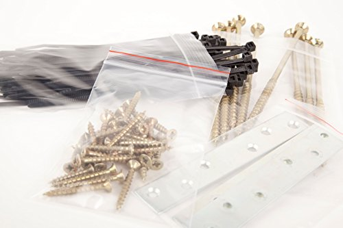 APLI 13130–Sacchetti richiudibili, confezione da 100pezzi, 160x 220mm