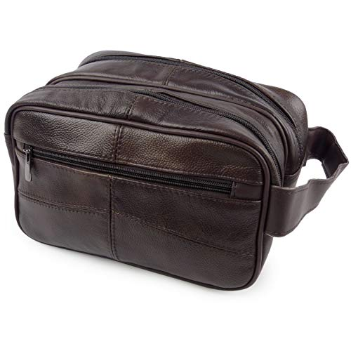 Oakridge Leather, Kulturtasche Braun braun Einheitsgröße