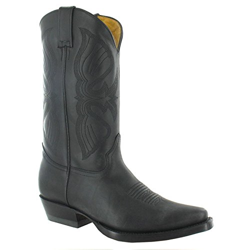 Grinders Mens Louisiana Leather Boots