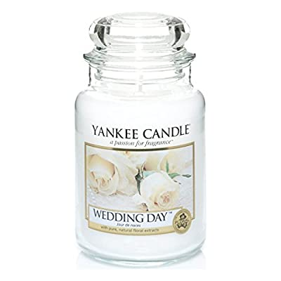 Official Yankee Candle Wedding Day Traditional Classic Signature Large Jar 623g - Secure Mail Order Box by My Planet Yankee Candle
