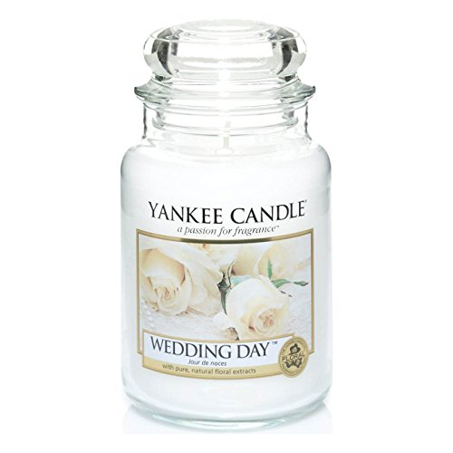Offizielles Yankee Candle Wedding Day Traditionelle Classic Signature großes Glas...