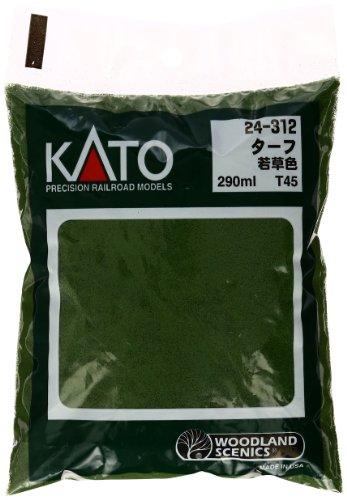 Turf-green Grass (Kato 24-312 Turf-Green Grass by Kato USA, Inc.)