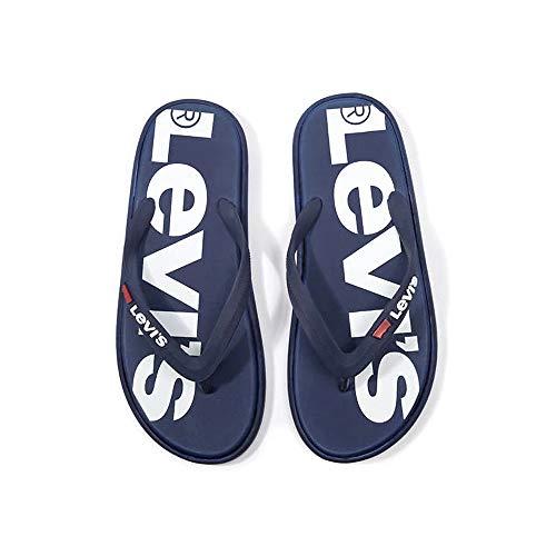 LEVIS 229846 00749 DELAMAR Infradito Uomo Navy Blue 36/37
