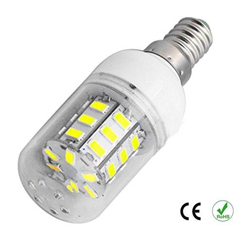 5 Stück E14 6W LED 600lm Lampe Mais Birne 7000K tageslichtweiß kaltweiß 360° Abstrahlwinkel 5730 SMD Leuchtmittel Kapsel Kolben Garage Lager Garten Kolben Kühlen