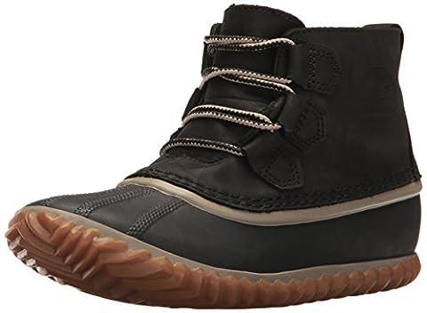 Sorel Out N About Leather, Bottes et Bottines de Pluie Femme, Noir (Black), 39.5 EU
