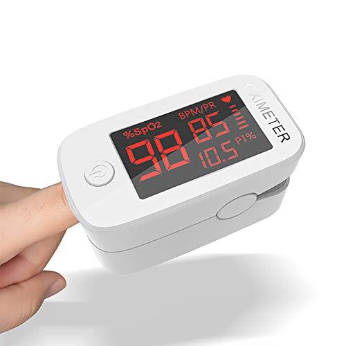 XXF Pulsoximeter, Finger-Pulsoximeter Digital-Blut-Sauerstoff-Und Pulssensor Meter Mit Alarm / SPO2 Automatische Abschaltung Und Schnelles Lesen,Grün