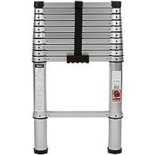 Jumbo® – Escalera telescópica (3,20 m 11 niveles aluminio Soporta hasta max