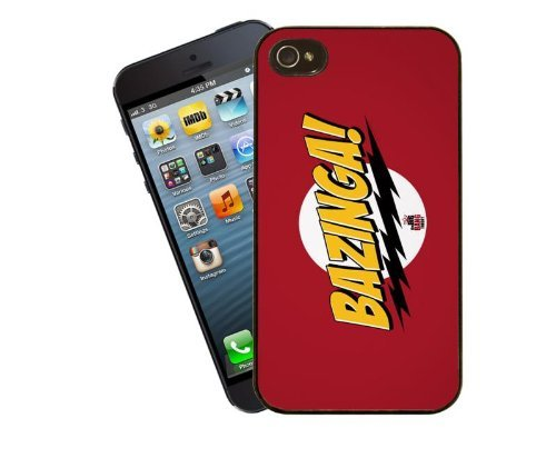 Eclipse idées cadeau pour iPhone 4/4S Motif The Big Bang Theory Bazinga