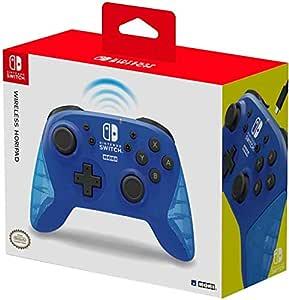 HORI Kabelloser Controller für Nintendo Switch (Blau)