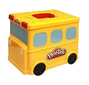 Splash Toys - 30481 - Boîte de Rangement - Bus pour Pâte à Modeler - Modèle Aléatoire