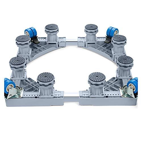 Zhao Li Waschmaschinen-Grundhalterung Automatischer Trommel-Pulsator 7/8/10 Kg Spezieller mobiler Fußhalter (Color : 8 feet high Models)