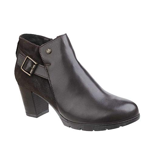 Hush Puppies Womens/Ladies Rocki Nolive Zip-Up Leather Casual Boots