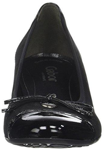 Gabor Shoes Comfort Fashion, Scarpe con Tacco Donna Nero (47 Schwarz)