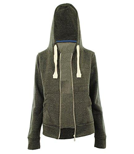 Gracious GirlDamen Sweatshirt Grau - Dunkelgrau