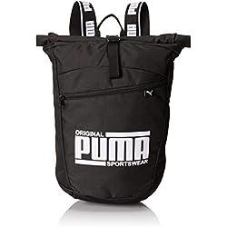 Puma Sole Backpack Mochilla, Unisex, Black, OSFA