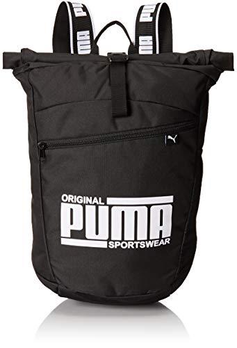 PUMA Sole Backpack Rucksack, Black, OSFA (Kinder Puma Rucksack)