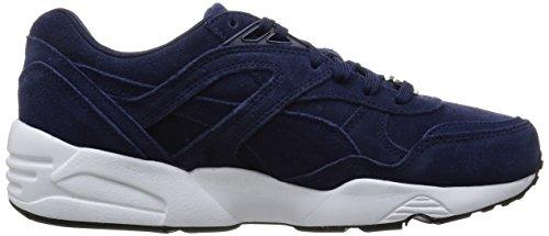 Puma R698 Allover, Sneaker Unisexe - Adulteo Blu (bleu (peacoat / Blanc / Noir))