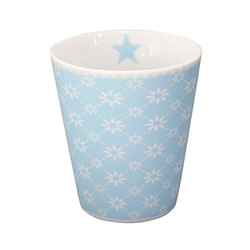 Krasilnikoff Mug Diagonal Baby Blue