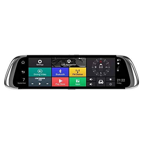 4G-Streaming-Medien fahren Rekorder 10-Zoll-Vollbildmodus Android Smart System Rückspiegel Video gleichzeitig Nacht blendfrei -