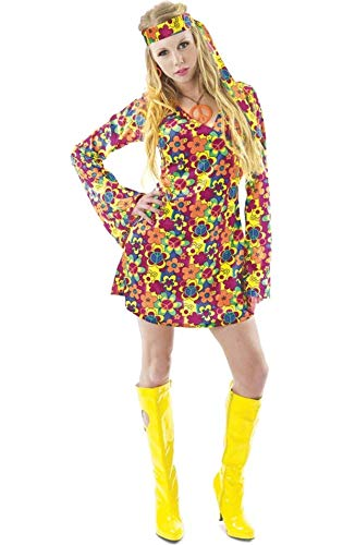 Female hippie costume - extra large