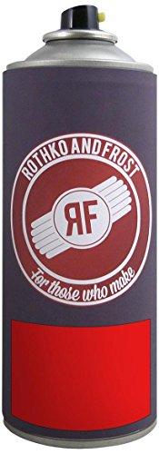 Dartfords cellulosa Guitar Paint (Union rosso, 400ml, spray)