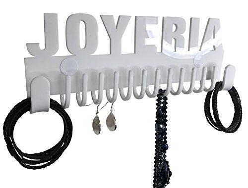 Foto de Organizador de collares para pared Galeara design Joyeria blanco - Ganchos de pared para alhajas