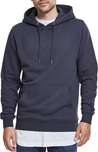 Urban Classics Herren Kapuzenpullover Basic Sweat Hoodie, Blau (Navy 00155), S