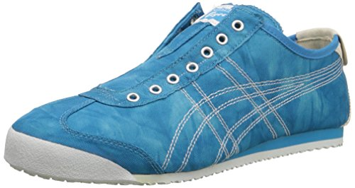 Onitsuka Tiger by Asics Mexico 66 Sip-on Synthetik Turnschuhe Mid Blue/White