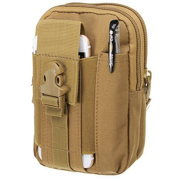 Unigear Polyester 17 cms ACU Messenger Bag (UNICAPBG0021)