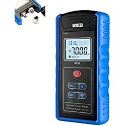 DealMux 5 kilometros -70 ~ 10 dBm Medidor de energía portátil óptico localizador visual SC / FC / ST interfaces de fibra TL560 para CATV Prueba CCTV y Telecomunicaciones