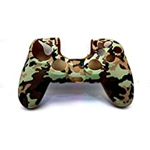 New World Army Color Soft Silicone Case cover Gel Skin Protective for PS4 Playstation4 Dualshock 4 Wireless Controller