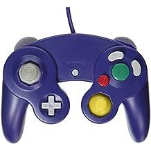 OSTENT Wired Choc Classique Controller Gamepad Joystick Joypad Compatible pour Nintendo GameCube NGC Wii Console Jeux Vidéo Couleur Violet
